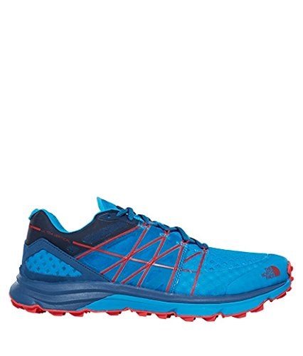 The North Face Zapatillas de running Ultra Vertical para hombre, Color: SHADYBL/HYPERBL, Talla: 45.5 EU (12 US / 11 UK)