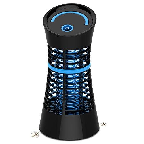 NuoYo Lámpara Anti Mosquitos Electrónica 5W/220V Mosquito de la Lámpara el Mejor Segura y Eficaz Lámpara de Anti-mosquito/Anti-insectos Con luz UV