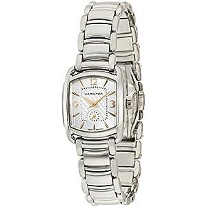 Hamilton Reloj Analogico para Mujer de Cuarzo con Correa en Acero Inoxidable H12351155