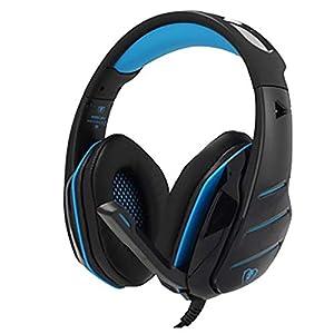Bluetooth Kopfhörer Over Ear, Nourich Wired Shocking Bass Gaming-Kopfhörer mit Mikrofon Headset Noise Cancelling Kopfhörer,30 Stunden Spielzeit,Ohrenschützer HiFi Stereo, Faltbar für Reise