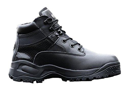 Sapatos Masculinos Wzg A Forças Especiais Dos Eua Botas Táticas Baixa Ajuda Zipper Botas De Combate Ao Ar Livre Sapatos De Escalada Preto