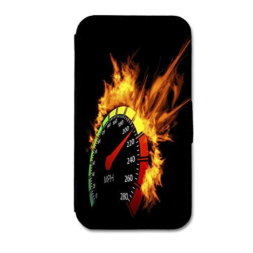Book Style Flip Handy Tasche Case Schutz Hülle Schale Motiv Etui für Apple iPhone 6 - 4,7 Zoll - Flip 1A49 Design1 Design 9