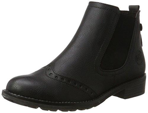Chelsea Damen Schuh (Marco Tozzi Damen 25034 Chelsea Boots, Schwarz (Black Antic), 39 EU)