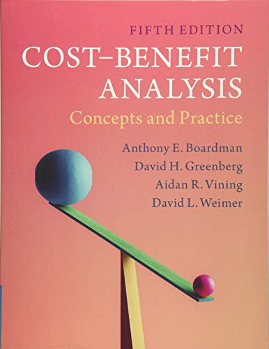 Cost-Benefit Analysis: Concepts and Practice por Anthony E. Boardman