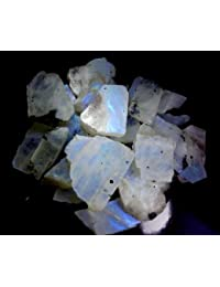 RADHEY KRISHNA GEMS 1501CTS WHOLESALE LOT NATURAL RAINBOW MOONSTONE ROUGH SPECIMEN CABOCHON GEMSTONE