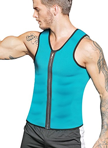 Hot Body Shaper Uomo specifica per laddome canottiera dimagrante in neoprene per allenamento da uomo