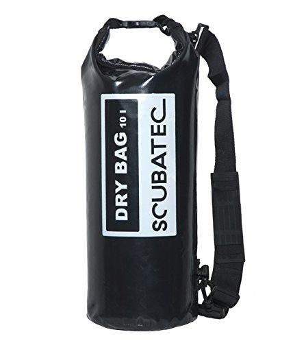 SCUBATEC dry bag sac étanche Noir 10 l