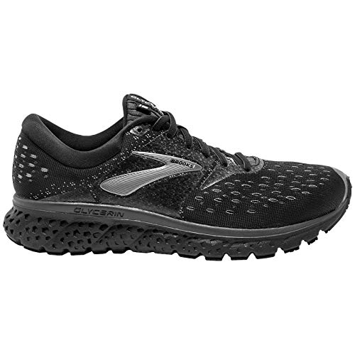 Brooks Glycerin 16 Scarpe da Running Uomo, Multicolore (Black/Orange/Grey 069) 42 EU
