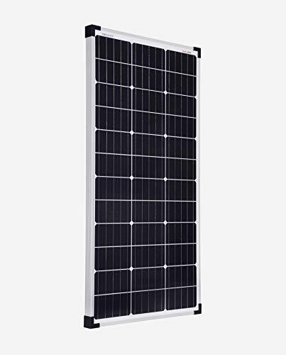 enjoysolar®, modulo fotovoltaico mono, da 80W, 12V, ideale come pannello solare per camper, casa da giardino, barca