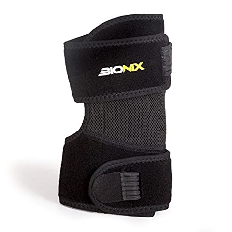Bionix Elbow Brace Support Tennis Golfers Strap Wrap Sports Injury Pain Relief Adjustable Strap Breathable Mesh New Design Brace