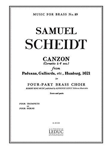 Samuel Scheidt: Canzon (Paduana, Galliarda etc 1621) (Horns 4)