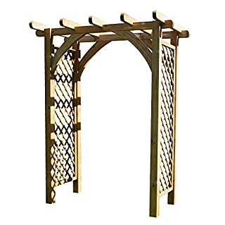 Anchor Fast Thurlestone Extra Large Wooden Garden Arch - !!! SALE !!!