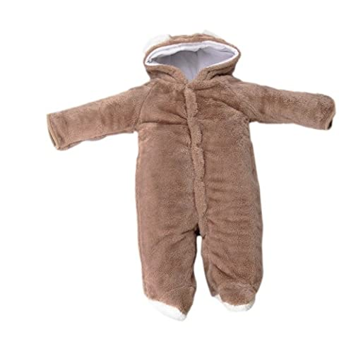 Fuloon Newborn & Baby Animal Romper Jumpsuit Todler All in One Snowsuit Outfit Coat Snowsuit 0-36 Months (6-12 months (Tag 80),
