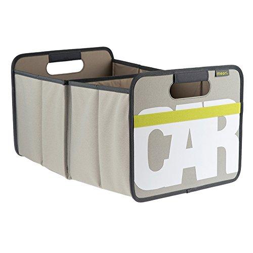 Meori Faltbox Classic Large Stein Grau/CAR 32x50x27,5cm abwischbar stabil Polyester platzsparend...