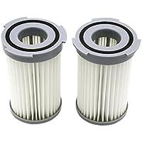 2er-Pack HEPA Filter für Electrolux Staubsauger (Vergleichbar mit EF75B (9001959494), F120 (9001966051), AEF75B). Original Green Label Produkt.
