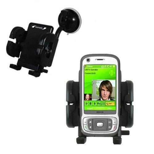HTC Kaiser Windschutzscheibenhalterung für KFZ / Auto - Cradle-Halter mit flexibler Saughalterung für Fahrzeuge