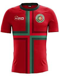 Airo Sportswear 2018-2019 Portugal Home Concept Football Soccer T-Shirt Camiseta