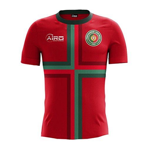 Airo Sportswear 2018-2019 Portugal Home Concept Football Soccer T-Shirt  Maglia 435fcfb73