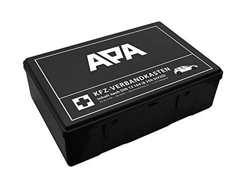 APA 21093Boîte de premiers secours respectant la norme DIN 13164