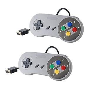 link-e ®: Packung mit zwei Gamepad für Konsole Super Nintendo SNES Mini Classic Edition