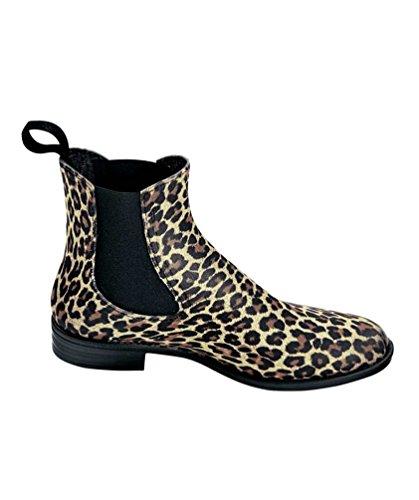Bockstiegel, Stivali donna Nero nero leopardo