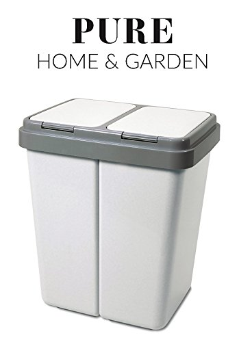 pure-home-garden-mullsortierer-2-x-30-liter-duo-bin-no1-made-in-europe-inkl-2-ersatzfedern