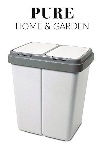 pure-home-garden-mullsortierer-2-x-30-liter-duo-bin-no1-made-in-europe-inkl-2-ersatzfedern