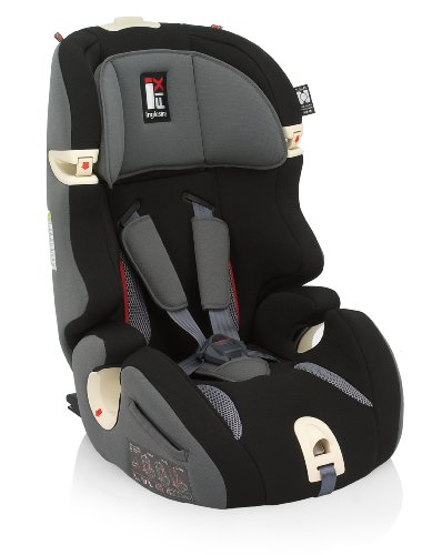 Inglesina AV97E0BLK Prime Miglia I-fix Seggiolino Auto Gr. 1/2/3 (9 - 36 Kg), Black
