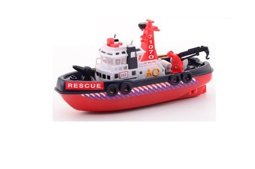 Bath Toys Boat With Water Squirter Cannon Toy