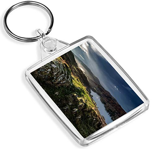 Coniston Water Lakes Keyring English Heritage Coast Britain Travel Gift # 16183 -