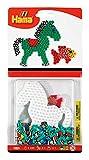 DAN Import 4173 Hama Set 350 Perlen gestreift Pferd/Fisch, Mehrfarbig