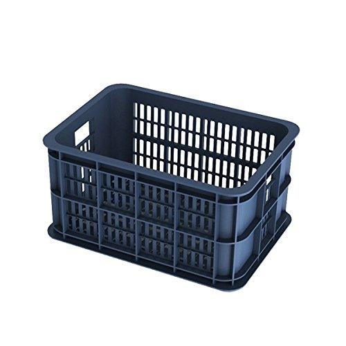 Basil Unisex- Erwachsene Crate S Fahrradkiste für den Vorderradgepäckträger, Bluestone, 40 cm x 29 cm x 21 cm