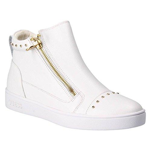 FLGEN1LEA12 Blanc Guess Guess Sneakers FLGEN1LEA12 Femme zxEErqOX