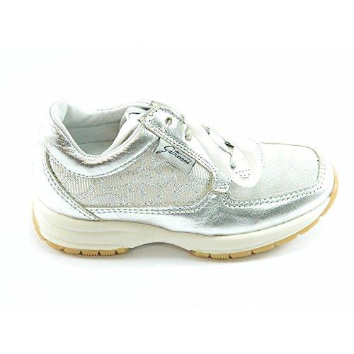 Gattinoni - Gattinoni scarpa argento bambina pelle - Argento, 27