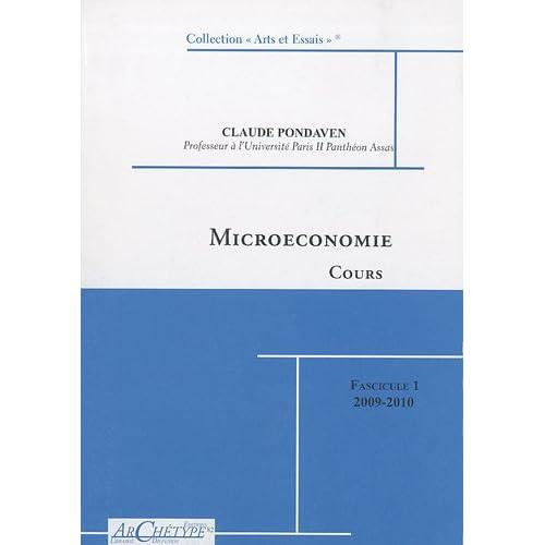 Microéconomie : Pack en 2 volumes