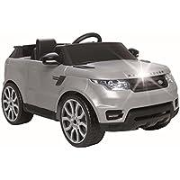 Range Rover Coche 6 V con Luces y Sonidos, Color Gris (Famosa 800010051)