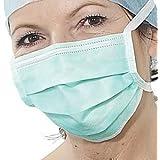 Verde del Cirujanos de filtración Máscara X 50