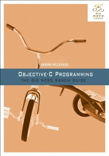 Portada del libro Objective-C Programming: The Big Nerd Ranch Guide (Big Nerd Ranch Guides) 1st edition by Hillegass, Aaron (2011) Paperback