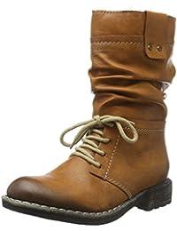 Rieker 74657-00 Damen Halbschaft Stiefel