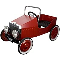 Great Gizmos Classic Pedal Car (Red)