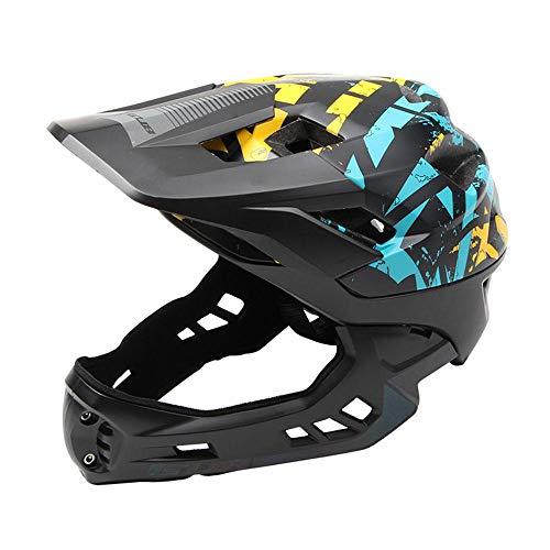 FOONEE Kinder Fahrrad Helm für Mädchen Jungen mit Verstellbarem Riemen Ziffernblatt Sicherheit Schutz leicht Atmungsaktiv Schwarz