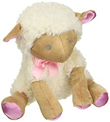Baby Dumpling Hush Little Baby Plush Lamb Musical Wind-Up Toy, Girls, 12 Inch