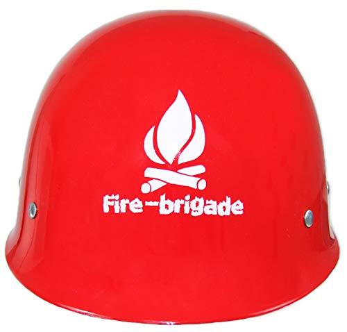 Historischer Feuerwehr Helm Massiv zum Kostüm - Feuerwehrmann Erwachsene Fasching Karneval