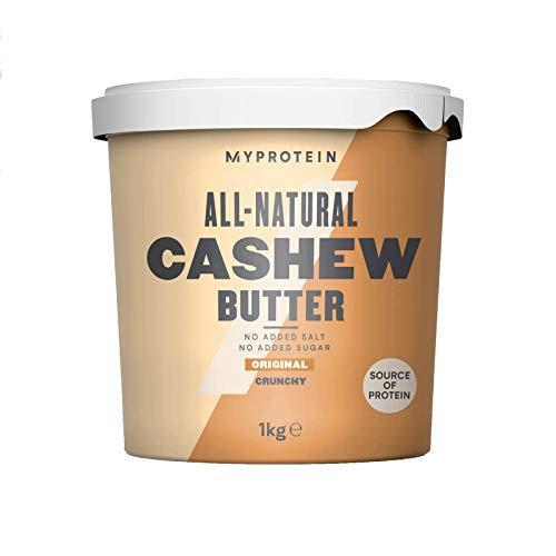Myprotein natural cashew butter burro di arachidi - 1 kg