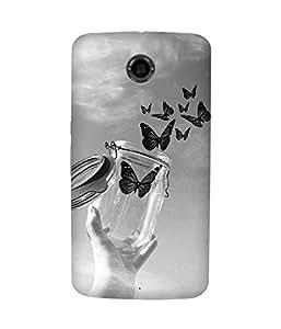 Free Butterfly Motorola Nexus 6 Case
