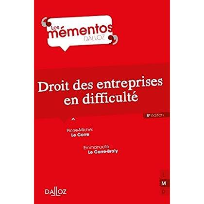 Droit des entreprises en difficulté - 8e éd.