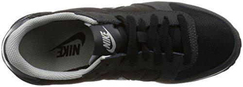 Nike Wmns Genicco, Chaussures de Sport Femme Noir - Negro (Black / Anthracite-Wlf Gry-White)