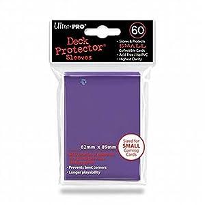 Ultra Pro Sleeves 60D10Juego de Cartas (tamaño pequeño), Color Morado
