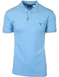 Gant Contrast Collar Pique Rugger, Polo Homme