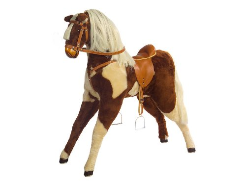 Kidsmax großes Pferd Reitpferd Plüschpferd Lizzy mit Sattel und Zaum